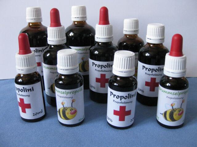 Propolis Lösung Tinktur Tropfen 20ml | 50ml | 100ml | 1000ml Pipetten Flasche |