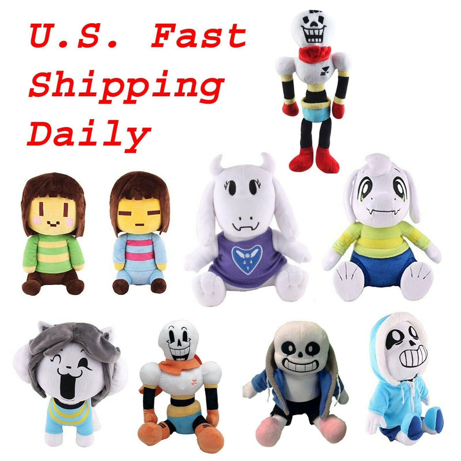 Undertale Plush Papyrus Toy Xmas Gifts Us Ships For Sale Online Ebay