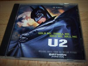 12 Batman Forever Movie DC U2 Music CD Hold Me Thrill Me Kiss Me Kill Me
