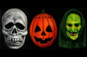 Halloween 3 Mask Set Trick Or Treat Season Of The Witch Pumpkin ...
