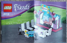 New Lego Friends 40112 Phone Stand Model Catwalk Hard To FInd Rare BNIB
