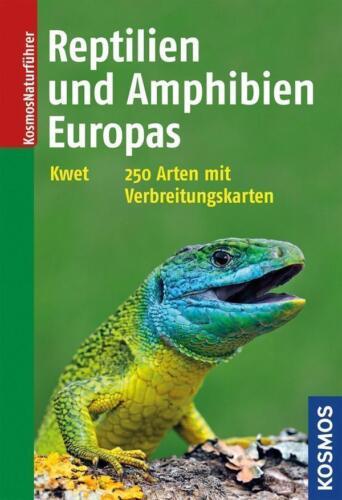 1 von 1 - Reptilien und Amphibien Europas ►►►UNGELESEN ° von Axel Kwet °