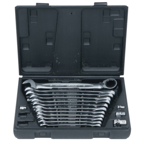 KS /_ tools GEARplus ® cliquet ringmaulschlüssel-jeu 503.4666 503.4666