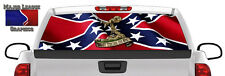Don't Tread on Me Flag Wavy BACK Window Graphic Perforated Film Decal Truck SUV