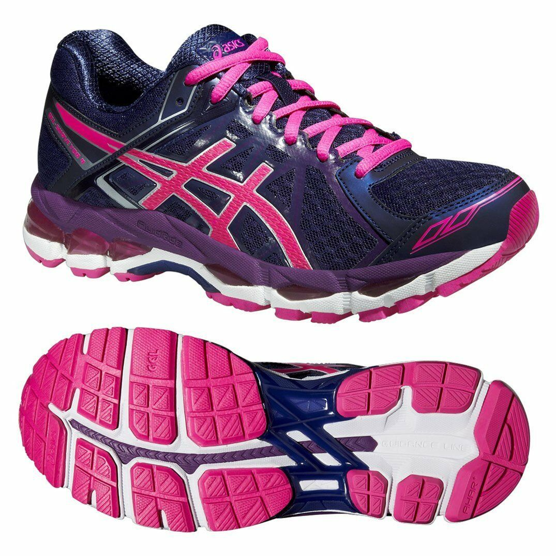 Asics Gel Gel Asics Surveyor 4 Blau T5C9N 4935 Damenschuhe Running Schuhes Größe UK 4 254672