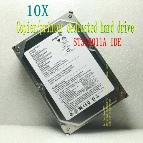 """10X Seagate 80GB 7200RPM Barracuda 7200.7 3.5/"""" ST380011A Desktop hard drive"""