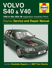 VOLVO S40 & V40 1996-2004 - Reparaturanleitung workshop service manual Handbuch