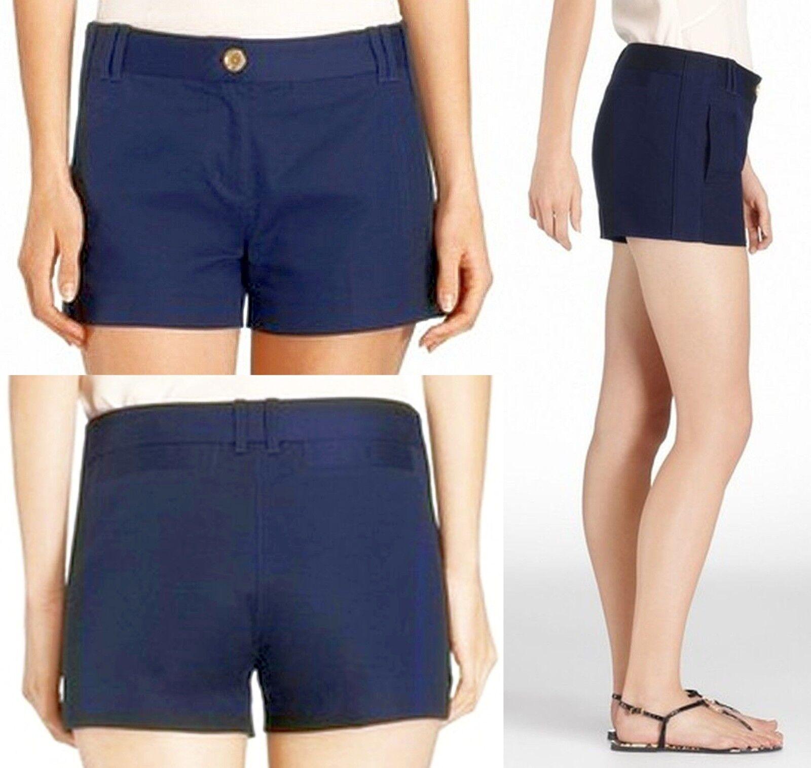 Tory Burch Ollie Shorts sz 12 Cotton Women Lady SEXY Pants Holiday Gift NEW USA