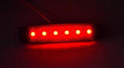 1x MARKER ROT HINTEN BRETT LED LICHT LAMPE TRAILER LASTWAGEN DREIRAD 12V 12