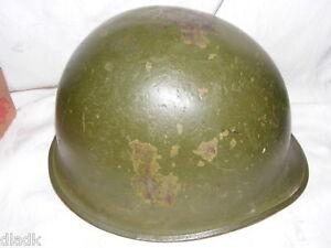 Vintage-Korea-Viet-Nam-Era-M1-Steel-Pot-Army-Helmet