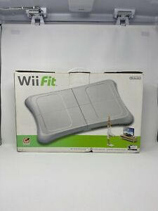 Genuine Nintendo Wii Fit Plus Balance Board w/ Wii Fit Wii Fit Plus Games