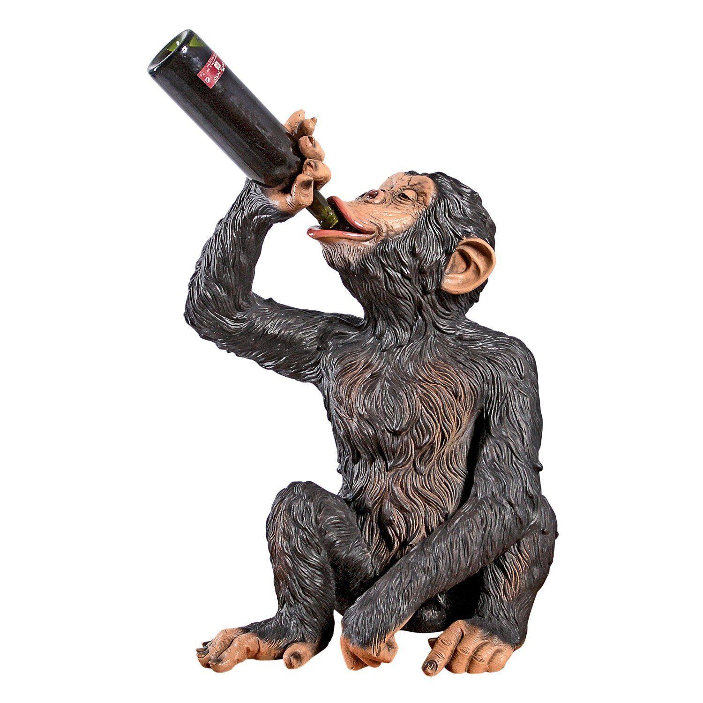 NE140099 ANISETTA liqueur buvant singe statue-Basé sur Biscaretti 1925 LITHO