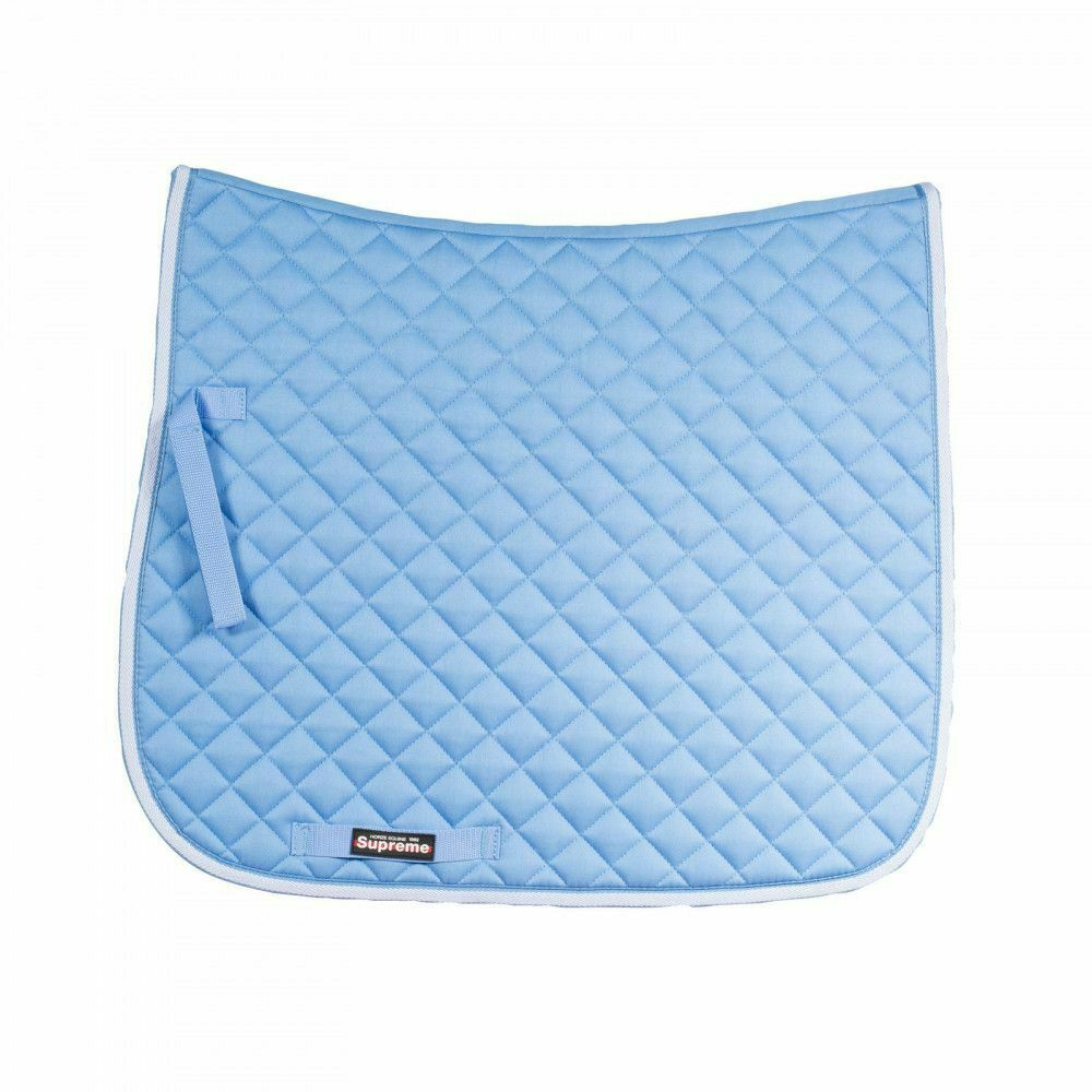 Horze Prinze Dressage Saddle Pad with Diamond Quilting and Contrast Piping