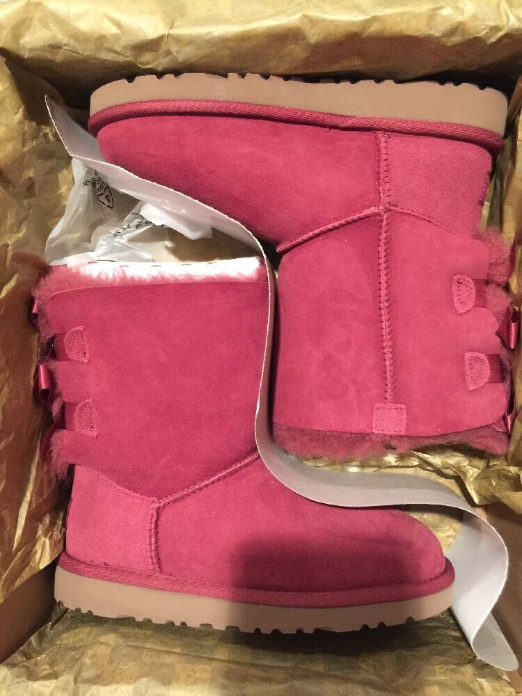 Ugg Kids Bailey Bow ~ Violet ~ Taille 2