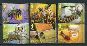 Jersey 2017 MNH Beekeepers Association 100 Yrs 6v Set Bees Beekeeping Stamps - London, London, United Kingdom - Jersey 2017 MNH Beekeepers Association 100 Yrs 6v Set Bees Beekeeping Stamps - London, London, United Kingdom