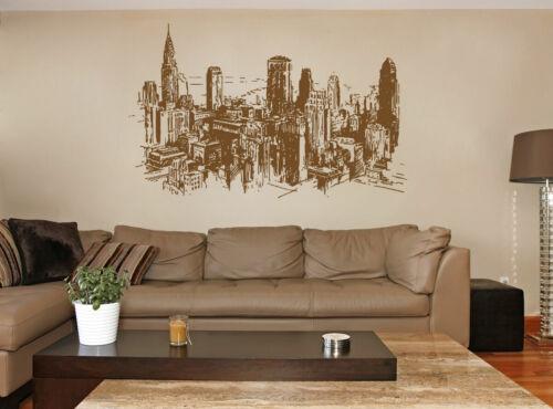 ik1162 Wall Decal Sticker new york city american bedroom children