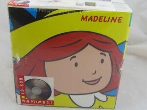 Madeline And The Magnificent Puppet Show PC Gift Set (1995, Gift Box) Sealed