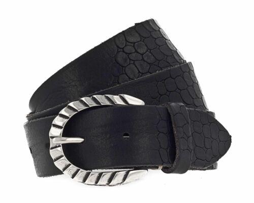 W100 B Sofia Black Pellegürtel belt Cintura 5AjL43R