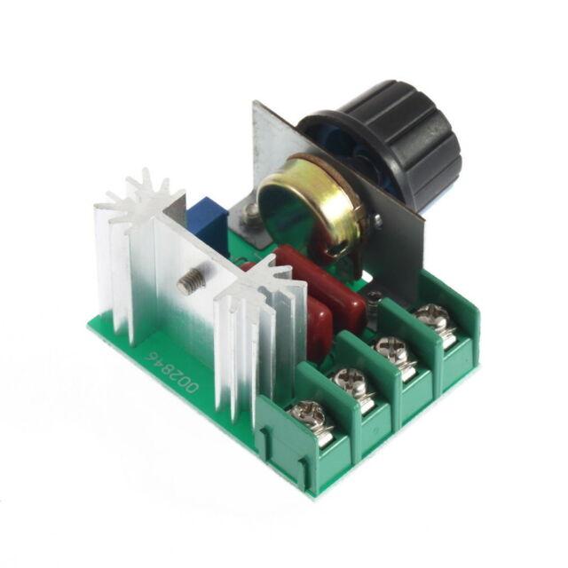 2000W AC 50-220V 25A Adjustable Motor Speed Controller Voltage Regulator PWM NM