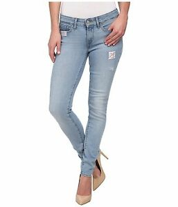 levis 711 skinny jeans womens mid rise destructed light. Black Bedroom Furniture Sets. Home Design Ideas