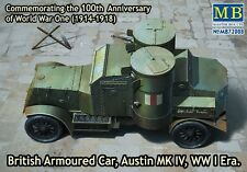Master Box 1/72 British Armoured Car Austin MKIV WWI Era # 72008