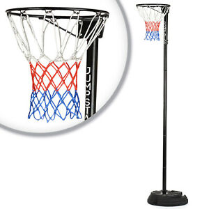 Portable Netball Hoop Post Full Size Adjustable to3.05m Professional Outdoor NEW