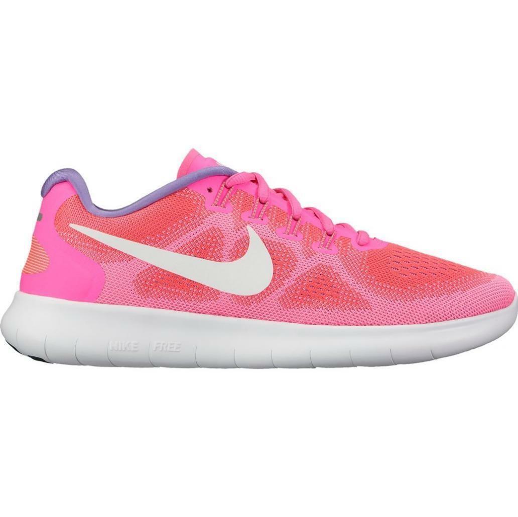 la meilleure attitude 5b0fe 7de40 Nike Free RN Rose Running 880840 601 Femme Baskets ...