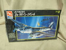 AMT ERTL 1/72 SCALE JUNKERS JU 88 G 1/G-6 MODEL KIT #8897 SEALED IN BOX 1993