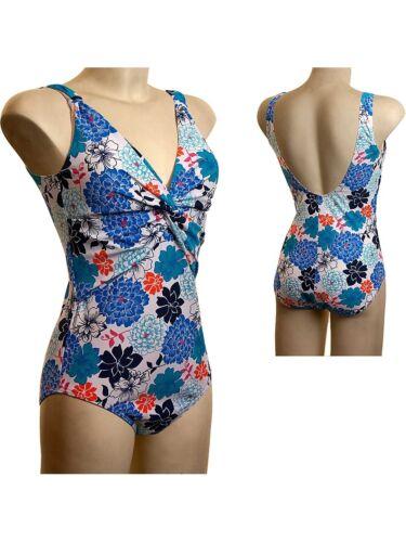 C e D Beachcomber AMALFI Floreale TORSIONE ANTERIORE swimsuit 12-24 B Prezzo inferiore..... DD