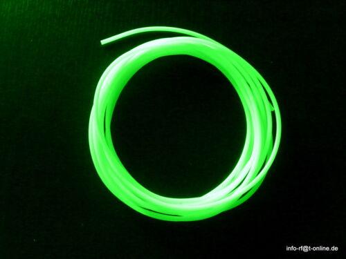 10 M leuchtschlauch Fluo même Vif 4 Mm mers système mètres prix 1,40 €