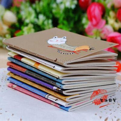 HOT 1 Pcs Cartoon Little Notebook Handy Notepad Paper Notebook Journal Diary