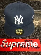 New Era Eric Manuel Fitted Hat Size 8 New York Yankees Waxed Supreme Limited