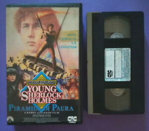 VHS-Film-Ita-Fantascienza-Young-Sherlock-Holmes-PIRAMIDE-DI-PAURA-no-dvd-V186