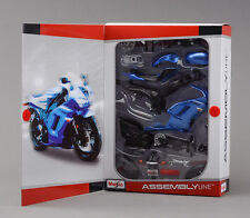Motorcycle Diecast Metal kit 1/12 kawasaki ZX-6R Maisto Autocycle Assembly Model