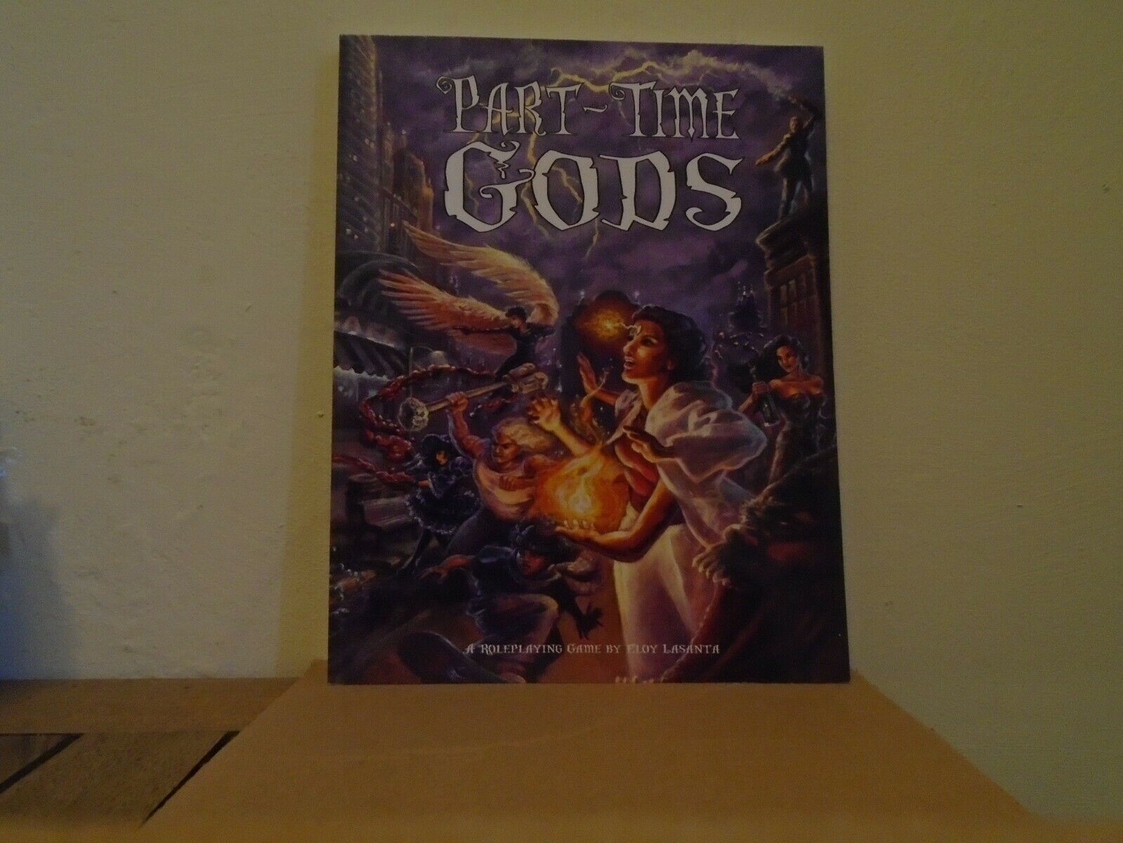 PART-TIME GODS Third Eye Games 3EG201 RPG by Eloy Lasanta softcover