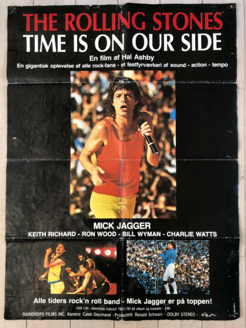 Andet, Rolling Stones Film Plakat, Time Is On Our Side /…
