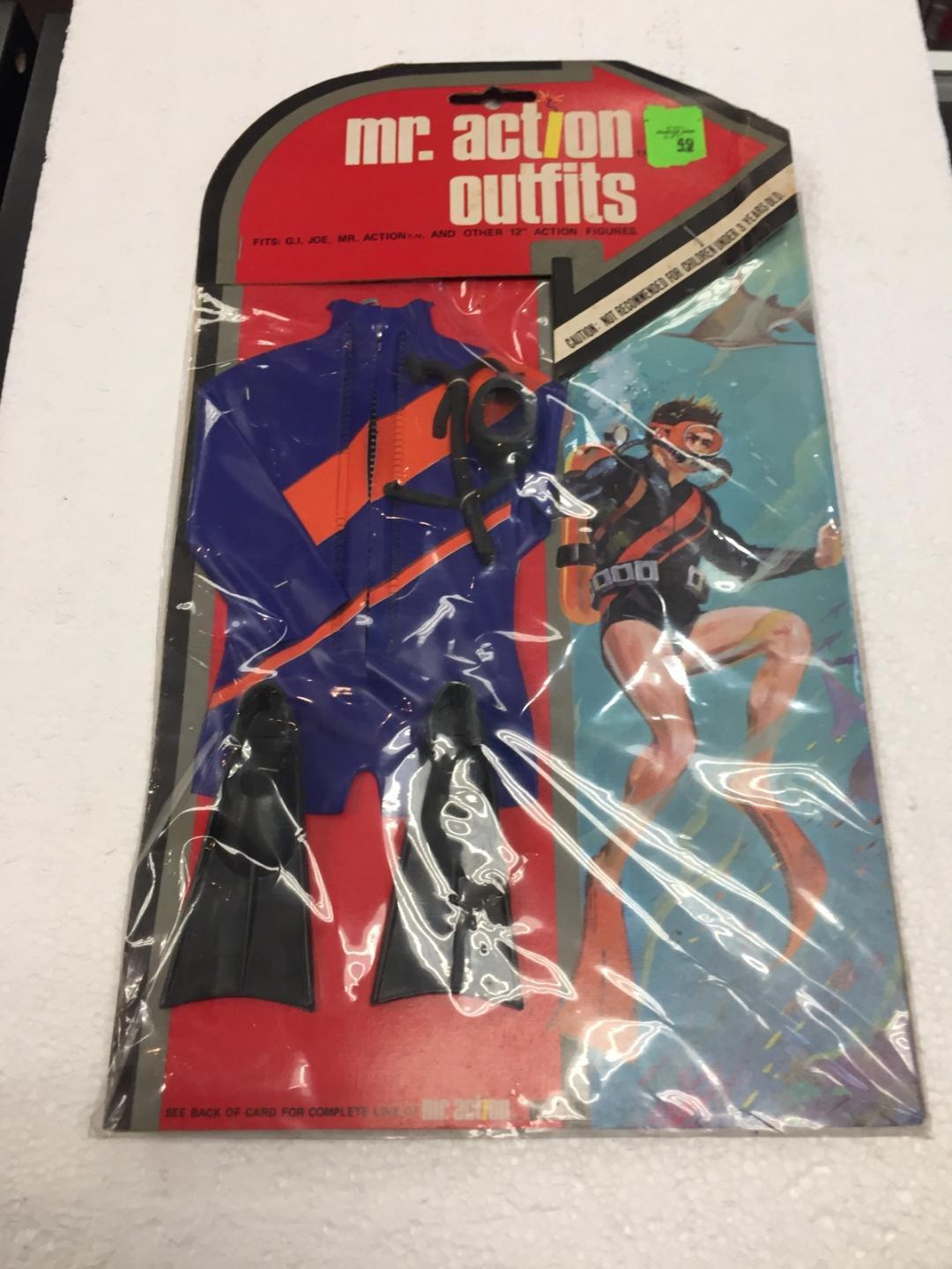 1975 Mr. Action Outfits SCUBA by LJN