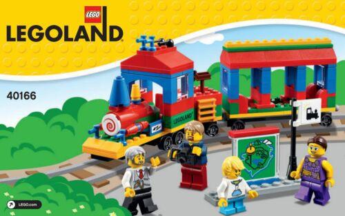 LEGO Exklusiv / Exclusive - 40166 LEGOland Zug / Train - Neu & OVP