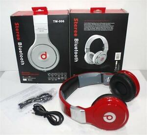 Auriculares Headphone Profesional Gaming TM-006S Bluetooth Stereo HQ