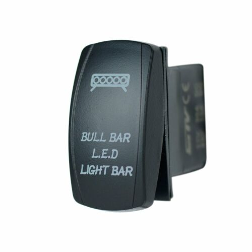 POLARIS RZR XP1000 BACKLIT LASER WHITE BULL BAR LED LIGHT BAR SWITCH UTV ATV