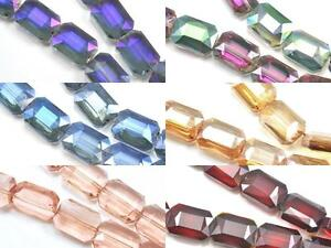 16x-Large-Faceted-Rectangular-Glass-Crystal-Beads-18mm-for-Jewellery-Making
