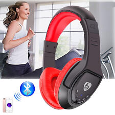 Bluetooth 4.1 Over-ear Headset Wireless Stereo Music Headphone For iPhone 7 iPad