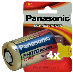 034-4x-CR2-PANASONIC-LITHIUM-Foto-Photo-Batterie