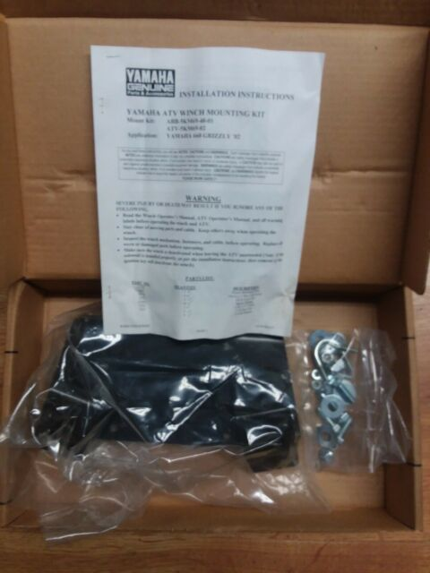 WARN 62665 WINCH MOUNT 02 YAMAHA GRIZZLY 660 NEW