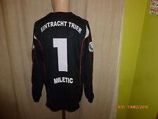Eintracht Trier uhlsport DFB-Pokal Matchworn Trikot 2008/09 + Nr.1 Miletic Gr.XL