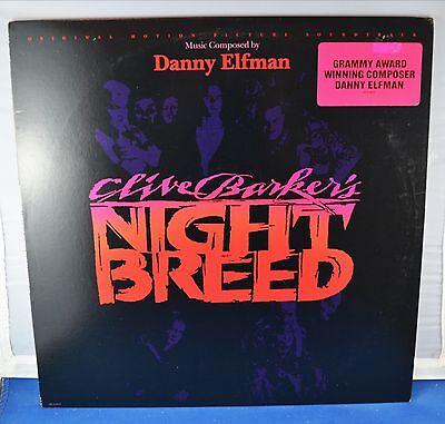 NIGHT BREED - DANNY ELFMAN - HORROR SOUNDTRACK MCA-8037 CLIVE BARKER