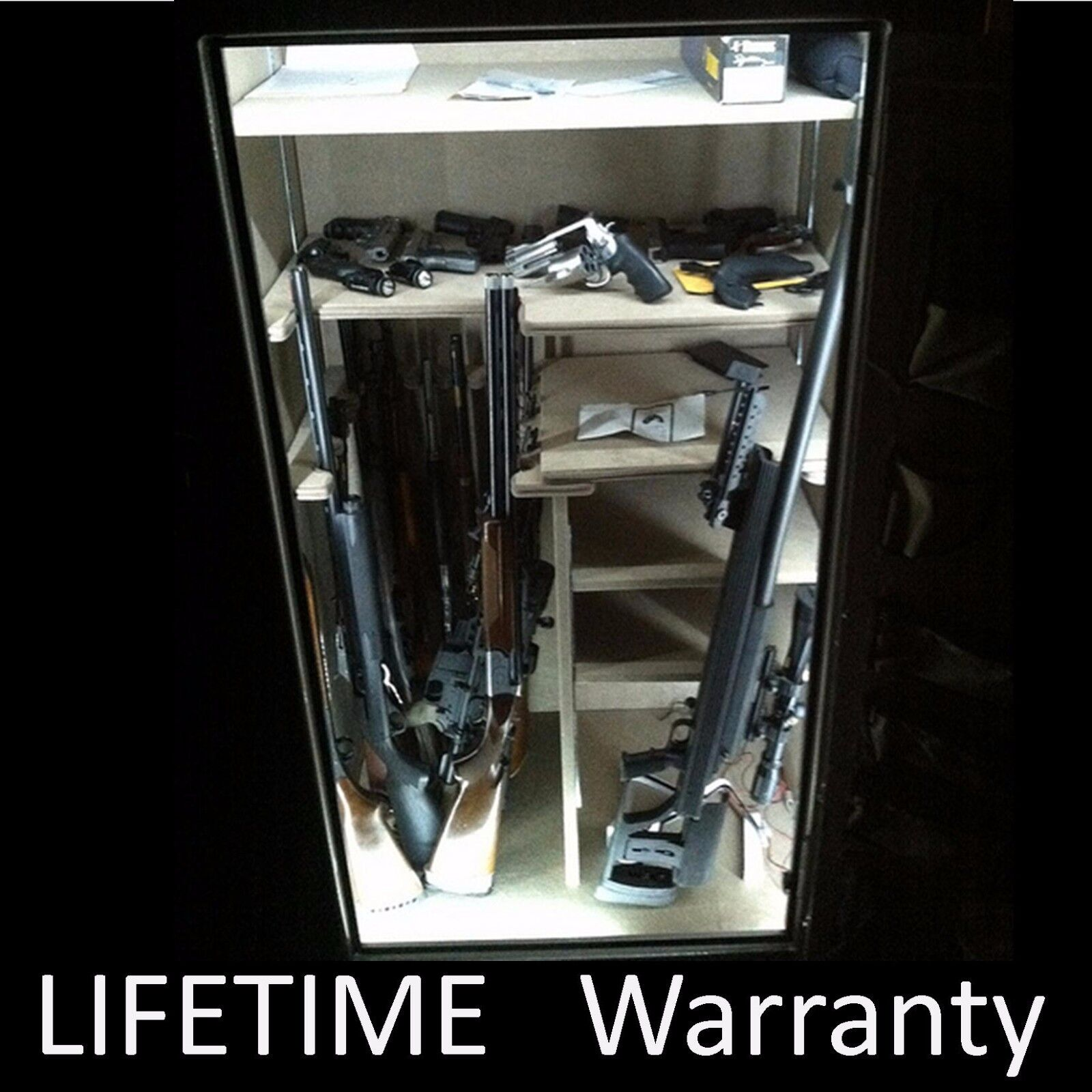 BEST Gift S.W.A.T.- - - - LED gun cabinet   safe light kit - - Remote Control