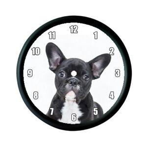 French Bulldog Puppy Dog Photo Wall Clock Animal Pet Lover Gift Ebay