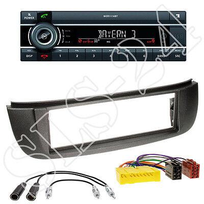 2001-2004 JVC 1din aux USB mp3 radio del coche para Nissan Almera Tino