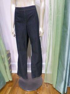Bisou-Bisou-Dark-Denim-Jeans-Size-16-XL-Michele-Bohbot-Stetch